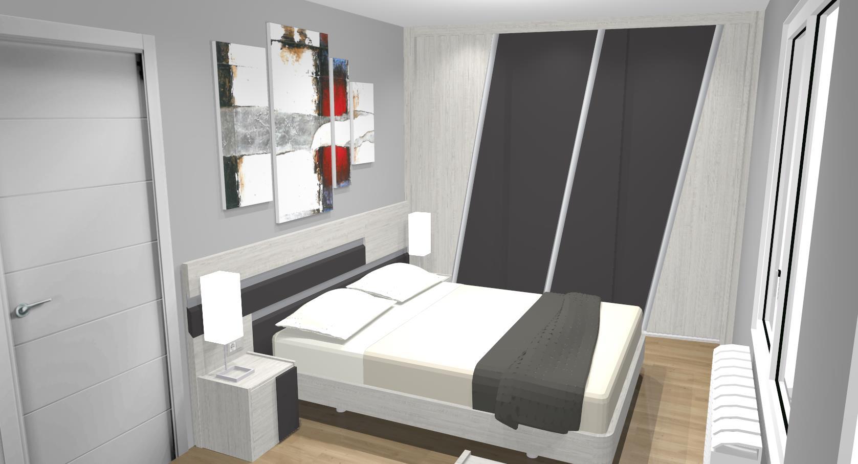 FOTO dormitorio elena cabecero y armario